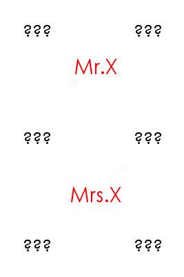 Mr/Mrs X