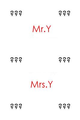 Mr/Mrs Y